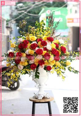 Hoa cắm bình  HH6023 - D27451 - xinhtuoi.online