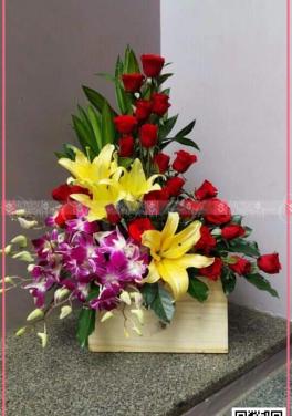 Lẵng Hoa Chúc Mừng - xinhtuoi.online