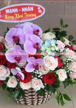 Bình Hoa để Bàn Tiếp Khách - xinhtuoi.online