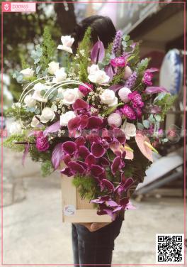 Hộp hoa - D30965 - xinhtuoi.online