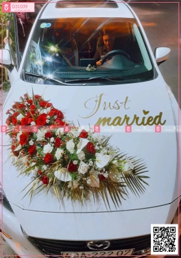trang trí xe hoa - D31039 - xinhtuoi.online