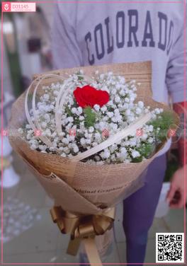 Bó hoa baby Hà Lan - D31145 - xinhtuoi.online