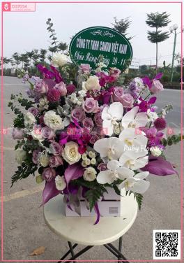 Giỏ Hoa Khai Trương - xinhtuoi.online