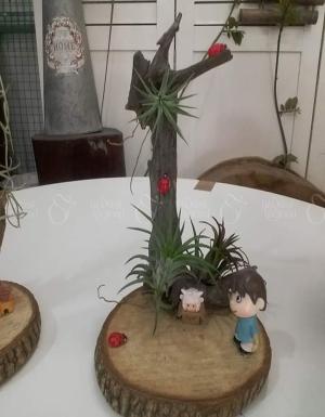 Tiểu Cảnh với Không Khí - D20375 - xinhtuoi.online