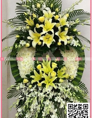 Hoa chia buồn - D27144 - xinhtuoi.online
