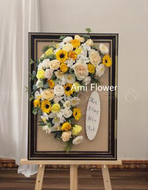 Kệ Hoa Sáp Chúc Mừng - D27553 - xinhtuoi.online