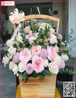 hồng kem, pingpong - D36979 - xinhtuoi.online