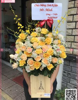 hoa chúc mừng khai trương, sinh nhật - D26319 - xinhtuoi.online