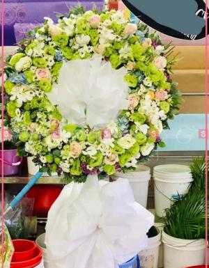 Hoa trắng - D26611 - xinhtuoi.online