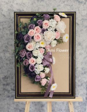 Kệ Hoa Sáp Chúc Mừng - D27554 - xinhtuoi.online