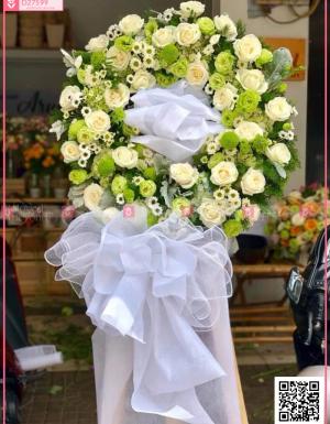 Hoa trắng - D27599 - xinhtuoi.online