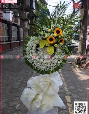 Hoa trắng - D28415 - xinhtuoi.online