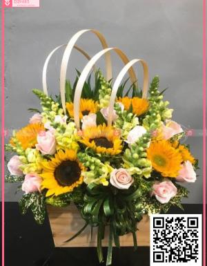 Hoa quà tặng - D29485 - xinhtuoi.online