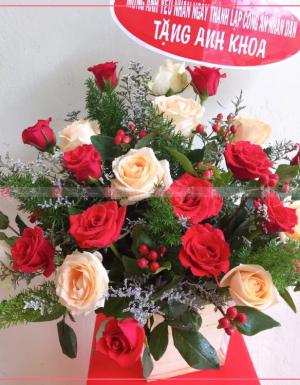 Hoa quà tặng - D29488 - xinhtuoi.online