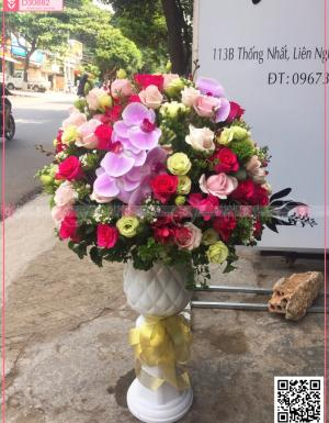 Bình hoa sang trọng - D30882 - xinhtuoi.online