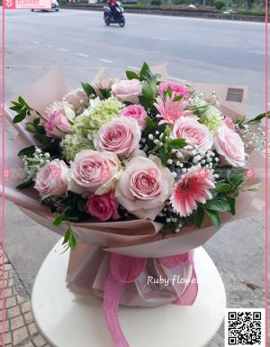 Bó hoa sinh nhật - D36982 - xinhtuoi.online