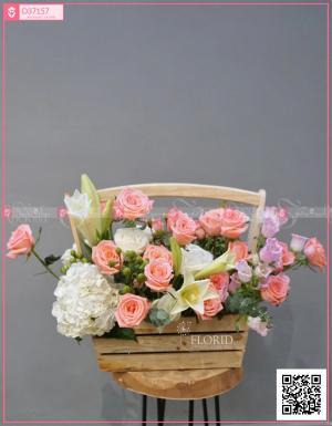 Giỏ hoa 0204 - D37157 - xinhtuoi.online