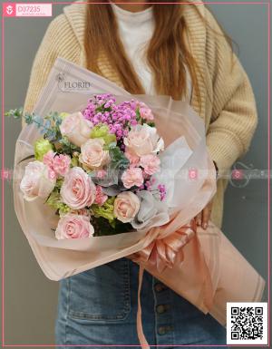 Bó hoa 1186 - D37235 - xinhtuoi.online
