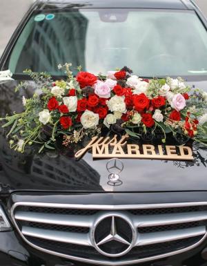 Combo xe hoa cưới - D37284 - xinhtuoi.online