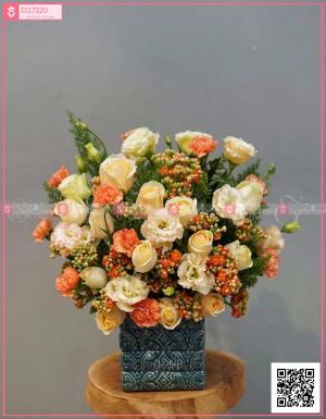 Hộp Hoa Quà Tặng - D37320 - xinhtuoi.online