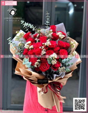 Red Roses - D90785 - xinhtuoi.online