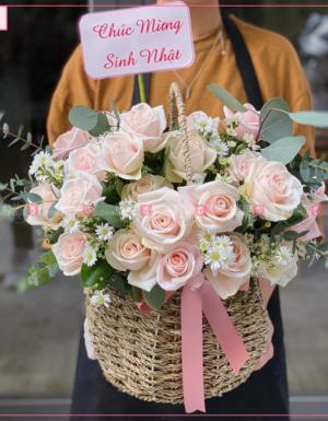 Happy Roses - D90860 - xinhtuoi.online