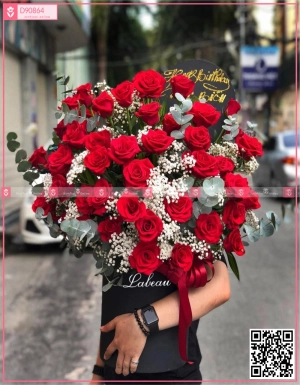 Red Roses - D90864 - xinhtuoi.online