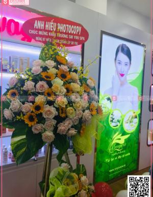 Lẵng Hoa Khai Trương - D112001 - xinhtuoi.online