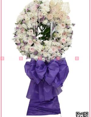 Hoa trắng - D112019 - xinhtuoi.online
