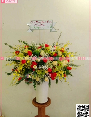 Bình Hoa Khai Trương - D112075 - xinhtuoi.online