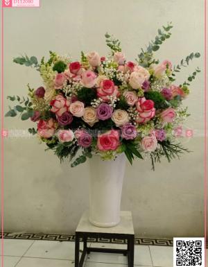 Bình Hoa Khai Trương - D112080 - xinhtuoi.online
