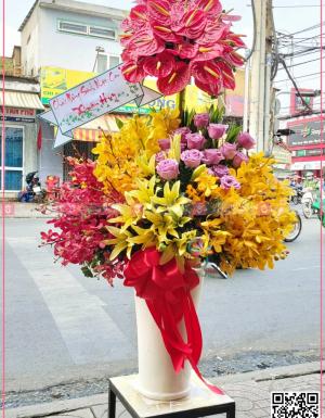 Bình Hoa Khai Trương - D112082 - xinhtuoi.online