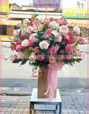 Lẵng Hoa Khai Trương - D112108 - xinhtuoi.online