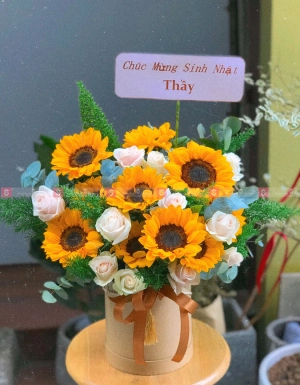 Lẵng Hoa Khai Trương - D112114 - xinhtuoi.online
