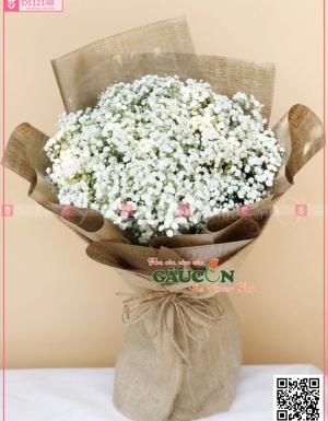 Giỏ Hoa Chúc Mừng - D112148 - xinhtuoi.online