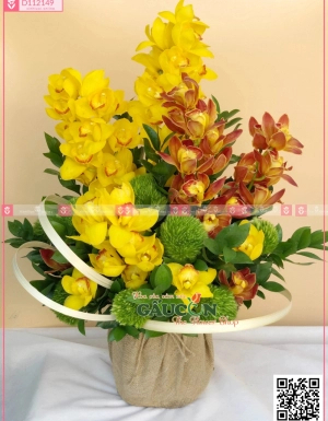 Giỏ Hoa Khai Trương - D112149 - xinhtuoi.online