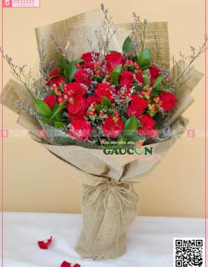 Bó Hoa Chúc Mừng - D112153 - xinhtuoi.online