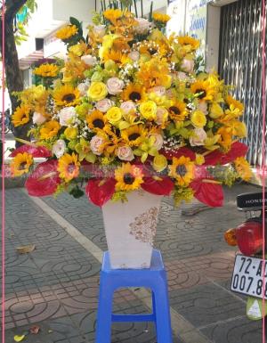 Lẵng Hoa Quà Tặng - D112175 - xinhtuoi.online