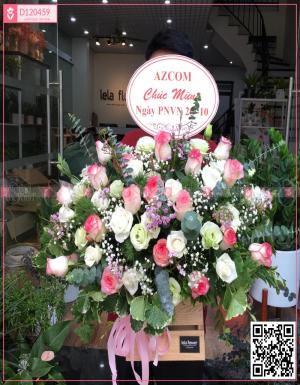 Hộp Hoa Quà Tặng - D120459 - xinhtuoi.online