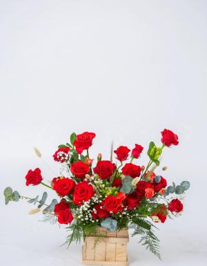 Lẵng Hoa Quà Tặng - D124475 - xinhtuoi.online