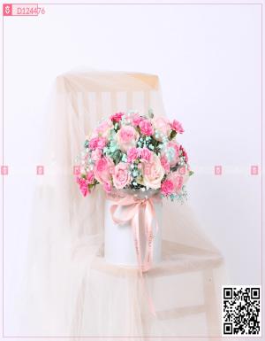 Hộp Hoa Quà Tặng - D124476 - xinhtuoi.online