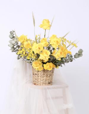 Lẵng Hoa Quà Tặng - D124477 - xinhtuoi.online