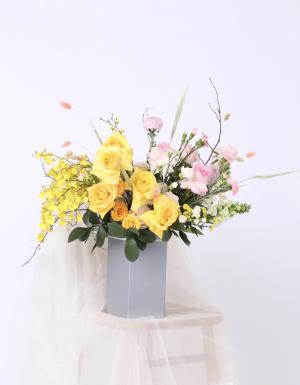 Lẵng Hoa Quà Tặng - D124478 - xinhtuoi.online