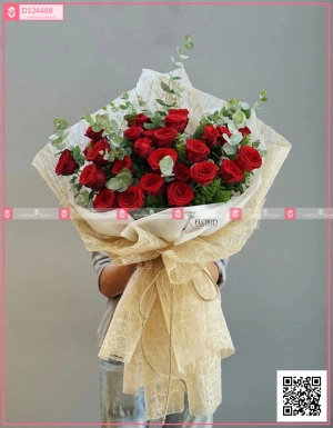 Bó Hoa Quà Tặng - D124488 - xinhtuoi.online