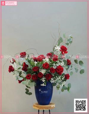 Lẵng Hoa Quà Tặng - D124493 - xinhtuoi.online