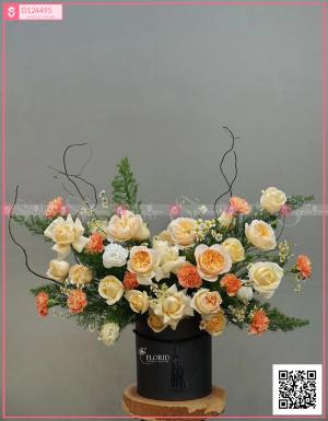Lẵng Hoa Quà Tặng - D124495 - xinhtuoi.online