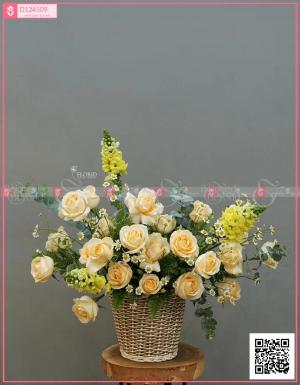Giỏ Hoa Quà Tặng - D124509 - xinhtuoi.online