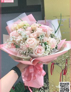 Bó Hoa Quà Tặng - D124522 - xinhtuoi.online