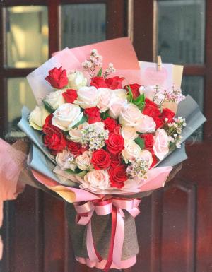 Bó Hoa Quà Tặng - D124524 - xinhtuoi.online