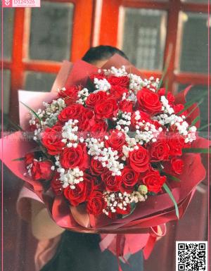 Bó Hoa Quà Tặng - D124526 - xinhtuoi.online